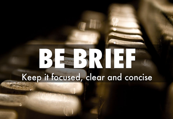 be-brief