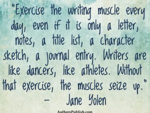 exercisewriting