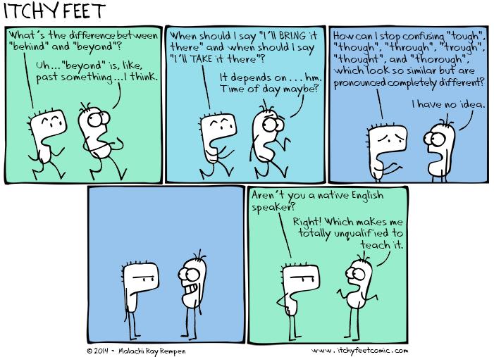 strangeEnglish