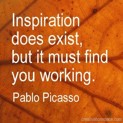 Picasso-on-inspiration