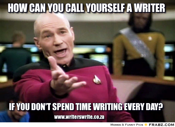 writingstartrek