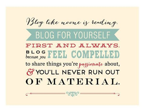 Image result for quotes about blogging