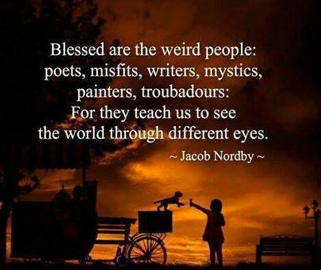 blessedaretheweird